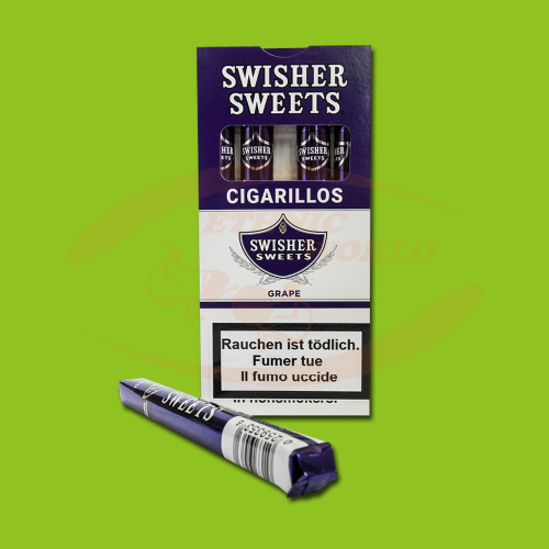 Swisher Sweets Cigarillos Grape (5 pc)