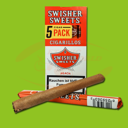 Swisher Sweets Cigarillos Peach (5 pc)