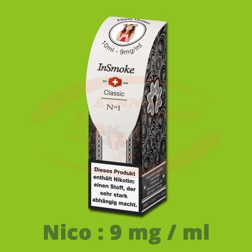 InSmoke Liquid 10 ml - 9mg - Apple Queen