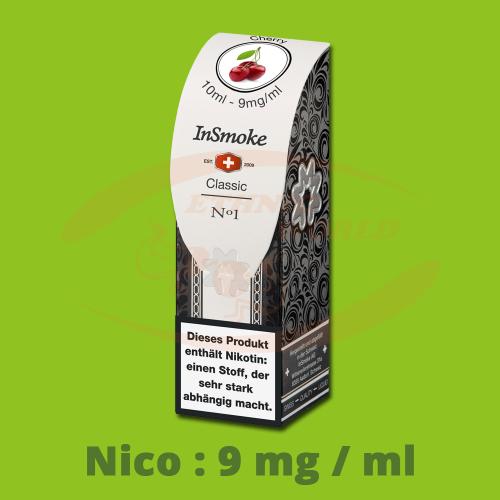 InSmoke Liquid 10 ml - 9mg - Cherry