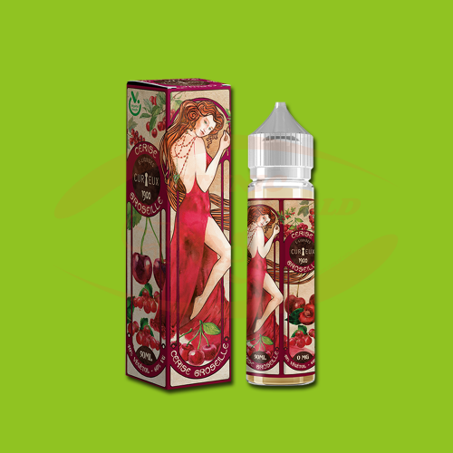 Curieux E-Liquid 50 ml - Cerise Groseille