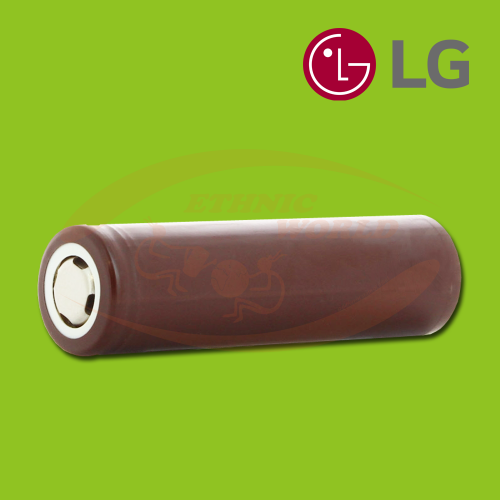 LG HG2 18650 3000mAh Flat Top Battery