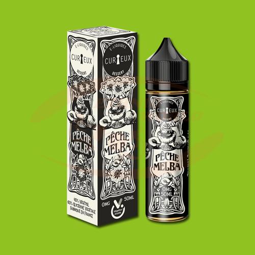 Curieux E-Liquid 50 ml - Peche Melba