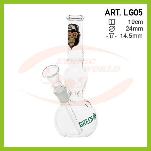 Glass Bong Greenline (LG05)