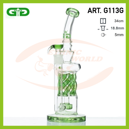 Glass Bong GG The Spinner