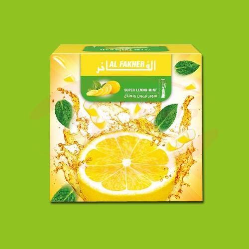 Al Fakher Super Lemon Mint