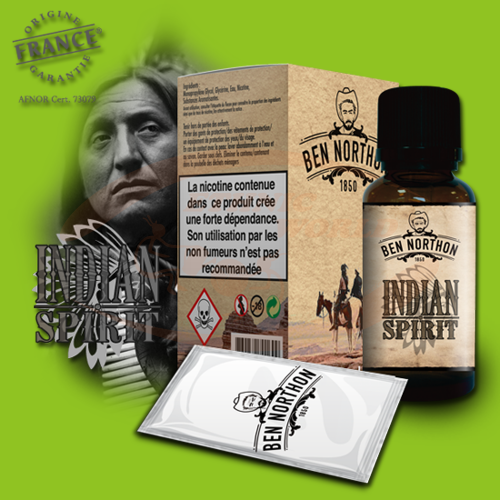 Ben Northon E-Liquid 50 ml - Indian Spirit