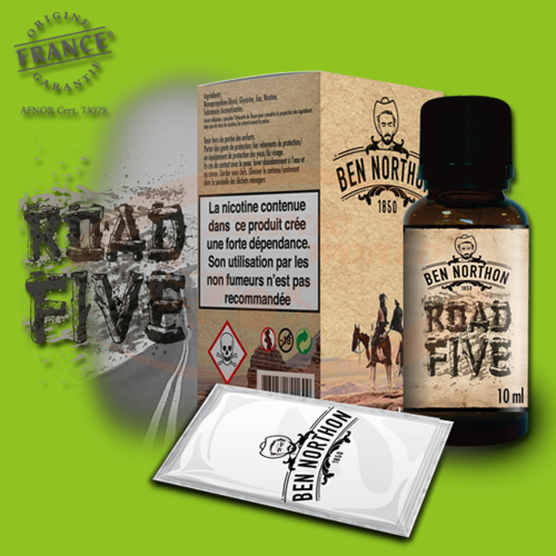 Ben Northon E-Liquid 50 ml - Road Five