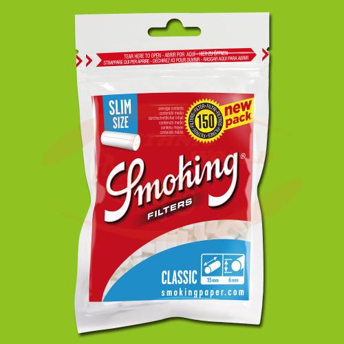 Smoking Filters Slim (150)
