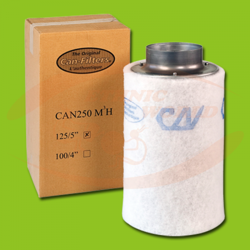 Can Filters 125 mm - 250 m³/h (CAN250m3h)