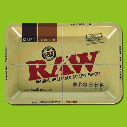 Raw Mini Rolling Tray 18X12cm
