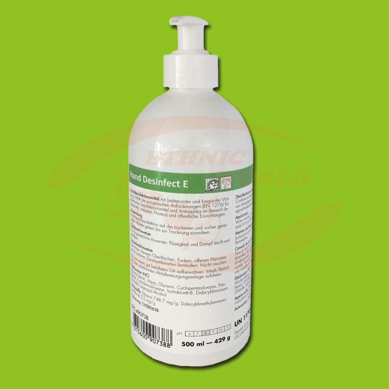 Hand sanitizer 500 ml (Push)