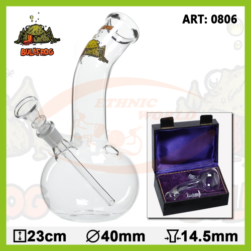 Glass Bong BOX 23 cm (0806)