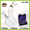 Glass Bong BOX 23 cm (0806)