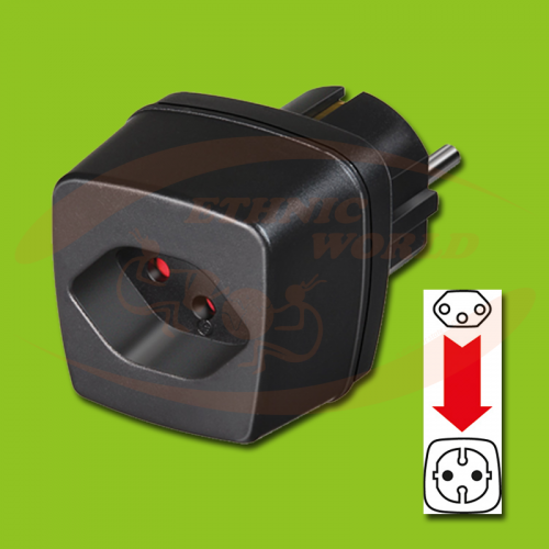 Adapter CH (F) - EU (M) Brennenstuhl