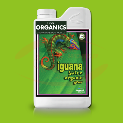 AN Iguana Juice Grow TRUE ORGANICS