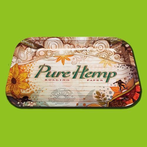 Pure Hemp Medium Rolling Tray 29X19cm
