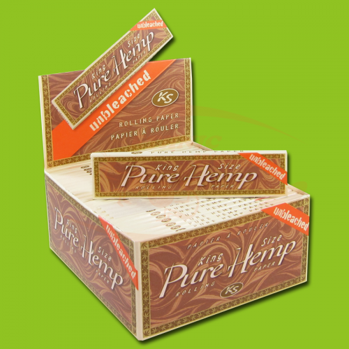 Pure Hemp Unbleached Slim (KS)
