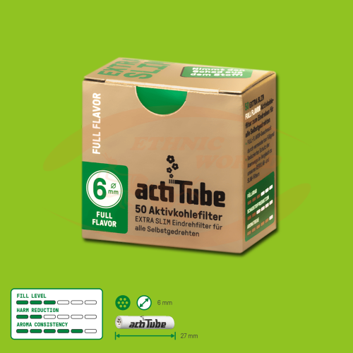 ActiTube 6mm EXTRA SLIM Filter ( 50)