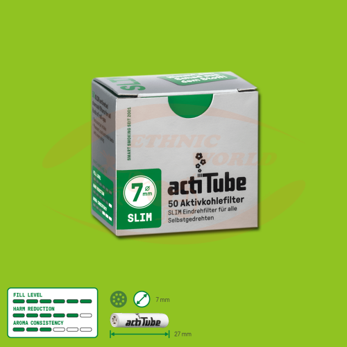 ActiTube 7mm SLIM Filter ( 50)