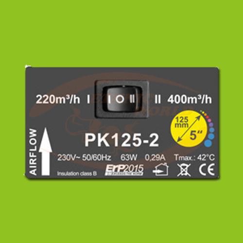 PK 125 - 220/400 m³/h