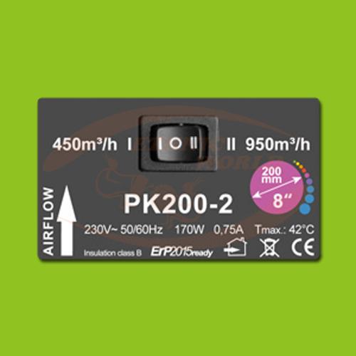 PK 200 - 450/950 m³/h