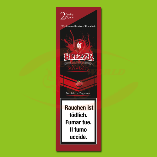 Blizzr Blunts Strawberry (2 pc)