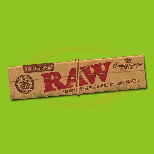 Raw Organic Connoisseur KS Slim (+Filter)
