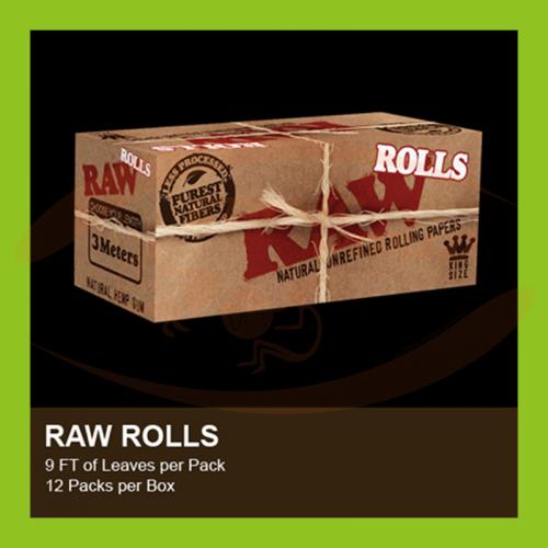 Raw Classic KS Rolls