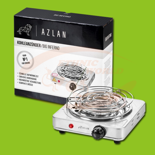 Azlan Electric Charcoal Lighter - 1000 W