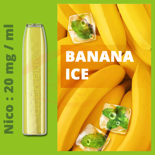 GeekBar Disposable e-cig 20 mg Banana Ice