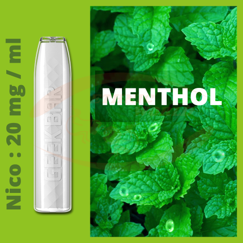 GeekBar e-cig Disposable 20 mg Menthol