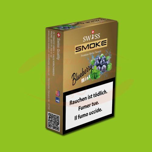 Swiss Smoke Blueberry Mint