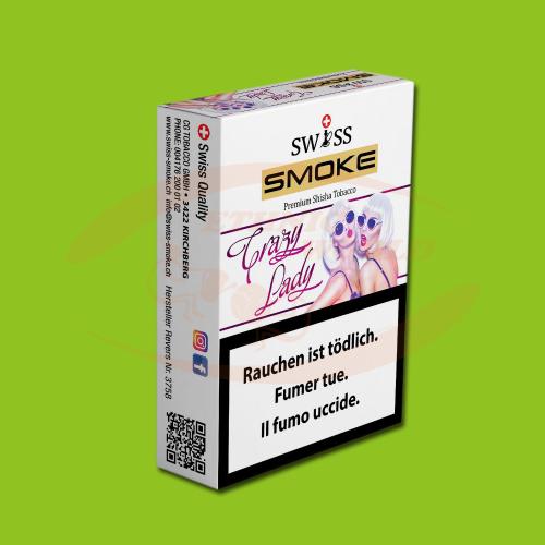 Swiss Smoke Crazy Lady