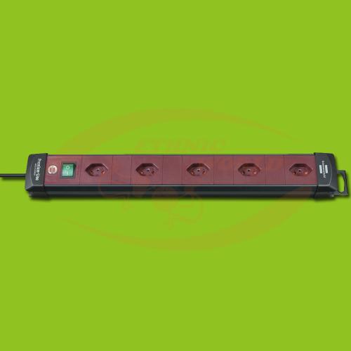 Steckdosenleiste 5xCH 1xSwitch 1.5mm² Brennenstuhl