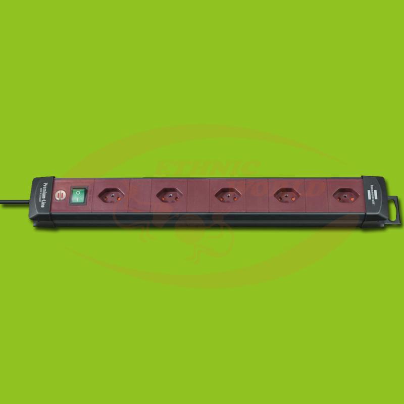 Power strip 5xCH 1xSwitch 1.5mm² Brennenstuhl