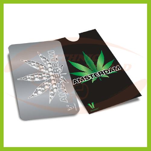Grinder Card Amsterdam Leaf