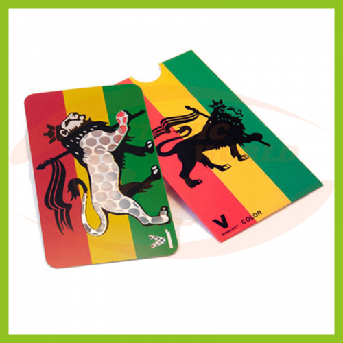 Grinder Card Rasta Lion