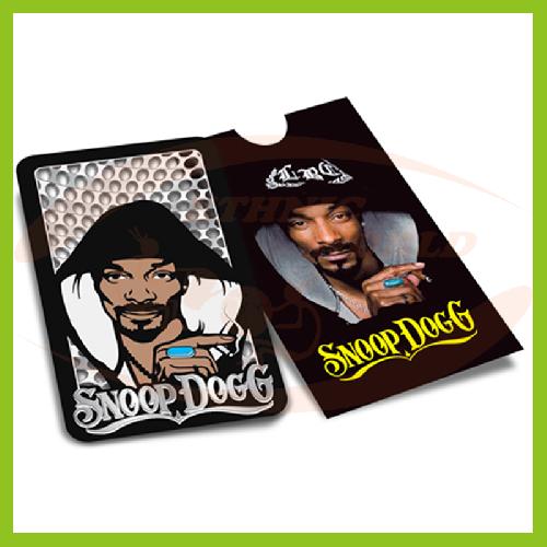 Grinder Card Snoop Dogg Smokin