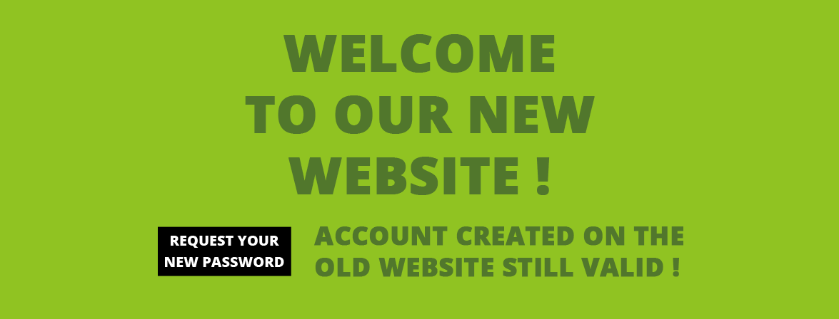 Welcome to our new website !