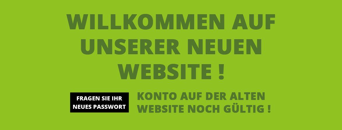 Herzlich willkommen auf unserer neuen Website!