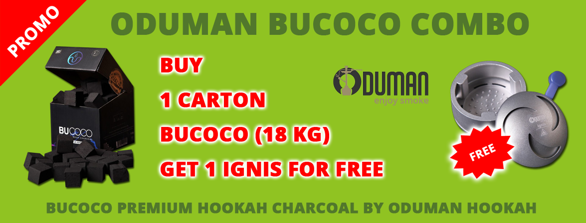 Buy 18 kg Oduman Bucoco and get 1 IGNIS for FREE !